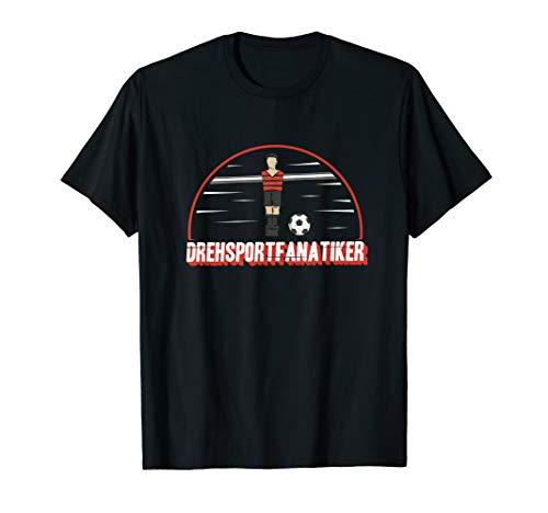 Tischkicker Geschenk für Tischfußballer I Tischfußball T-Shirt