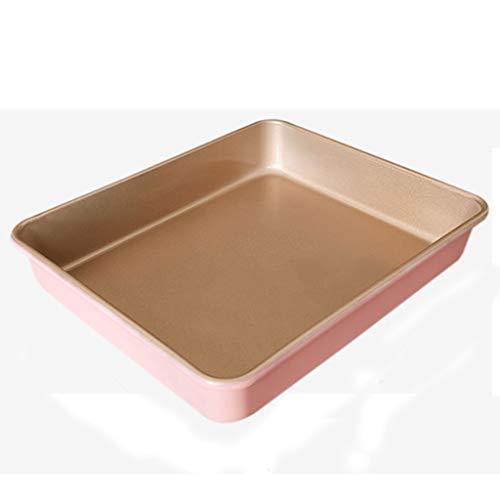Baking mold Bandeja de horno multifuncional rectangular antiadherente de acero al carbono, molde de 13 pulgadas para horno, pan, pan, pasteles, etc.