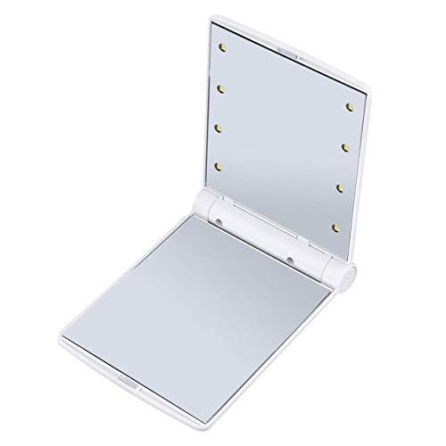 Miroir de maquillage pour femme Cosmetic Led Mirror blanc