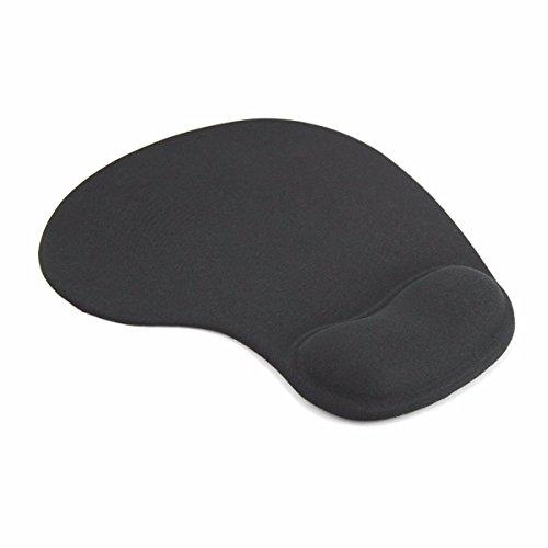 Mouse Pad De Espuma De Goma Gel Mouse Optico (Negro)