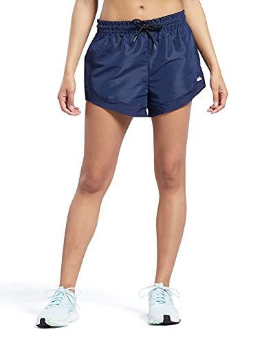 Core 10 by Reebok Women's Woven Shorts, Vector Navy, Large