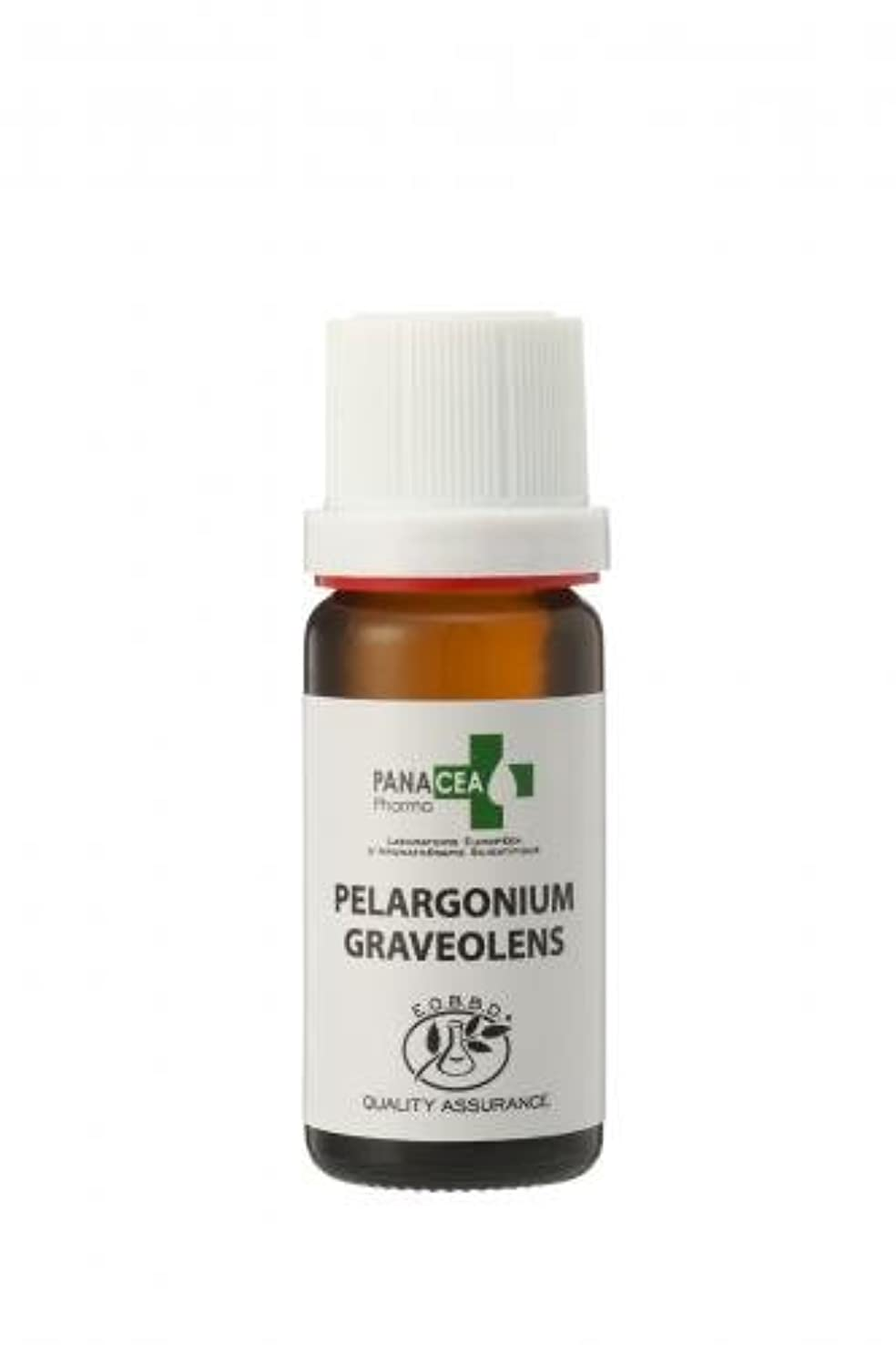 受け入れ弱い最終ゼラニウム エジプト (Pelargonium graveolens) エッセンシャルオイル PANACEA PHARMA パナセア ファルマ