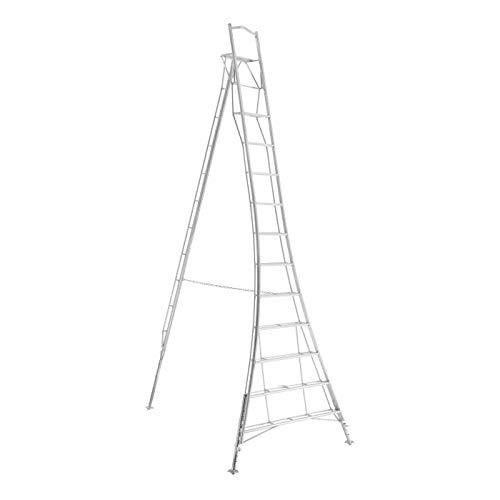 Tripod Garden Ladder with Built-in Platform by Henchman