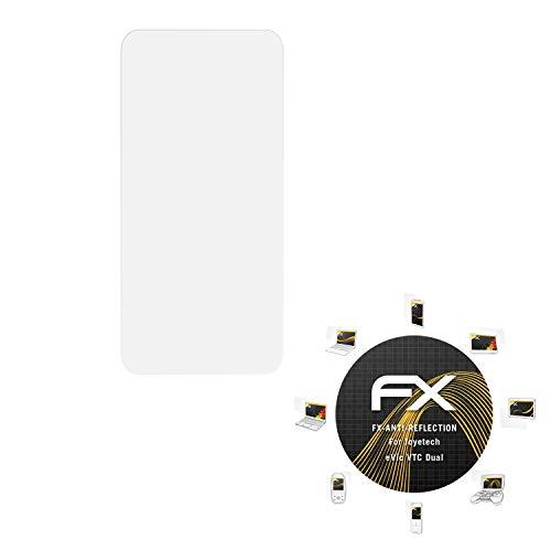 atFoliX Panzerfolie kompatibel mit Joyetech eVic VTC Dual Schutzfolie, entspiegelnde und stoßdämpfende FX Folie (2X)