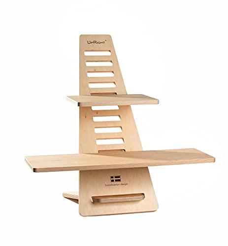 UPRIGHT MUSE - Escritorio de pie, escritorio ajustable, muebles ergonómicos, escritorio para ordenador portátil