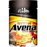 Tortitas de Avena en Polvo- Combinado de Carbohidratos Proteínas y Vitaminas - Suplementos Deportivos y Suplementos Alimentación - Vitobest (Vainilla y Canela, 700g)