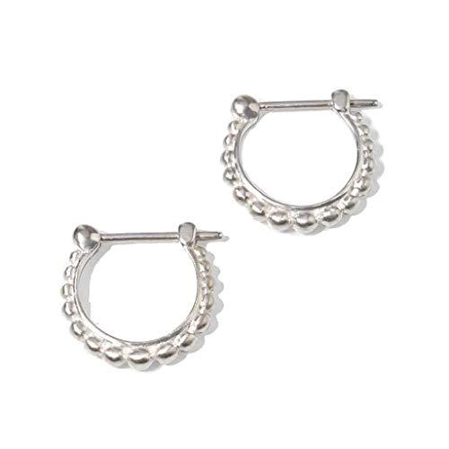 Noosa RELIC Ohrringe CREOLE MASSAI silver Ø 10 mm - ohne Relic