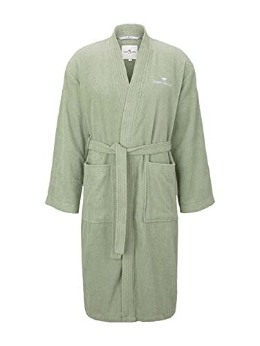 Tom Tailor 0100300 Bata de baño Frotar Tamaño: XL, eucalyptus