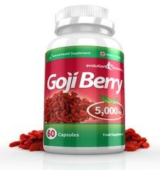 Goji Berry Extract 5000mg High Strength Capsules, 60 Capsules, Evolution Slimming