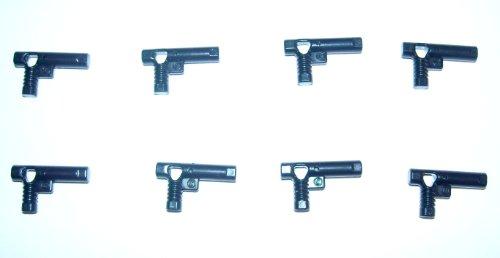 LEGO Star Wars - 8 schwarze Pistolen z.B. für Prinzessin Leia
