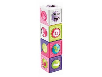 Fisher-Price - Roller Cubes Fille 6-36 Mois