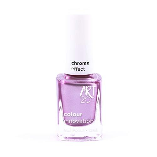 Art 2C Feministry - Nagellack mit Chrom-Effekt - 6 Farben, 12 ml, Farbe: CH05