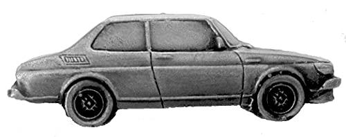 Insignia de pin de diseño de efecto peltre, diseño de coche sueco 99 Turbo ref219