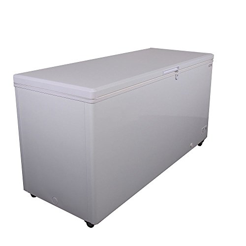 Kelvinator Commercial KCCF210WH Solid Top Chest Freezer, 21 Cu. Ft. Capacity