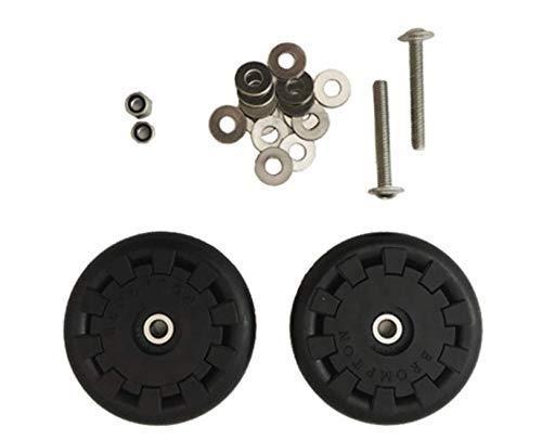 Brompton Eazy Rad Roller Set - 5mm Löcher - für Gepäckträger
