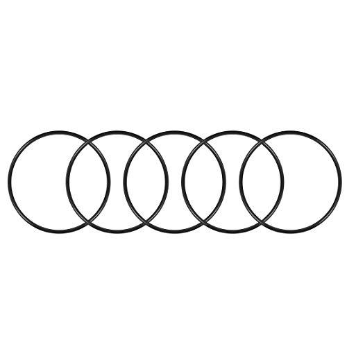 sourcing map 5stk. O-Ring Nitril Gummi Dichtungsring Dichtung 100mm x 105,3mm x 2,65mm DE de