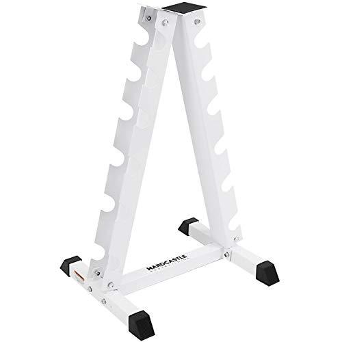 Hardcastle Vertical White Dumbbell Rack
