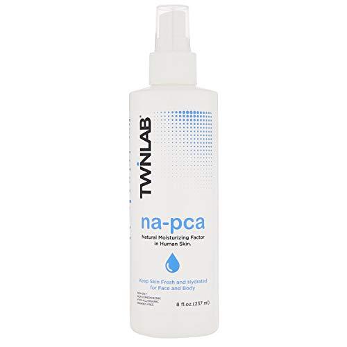 Twinlab Na-PCA Moisturizer with Eucalyptus Oil - Anti Aging Hydrating Body & Face Moisturizer For Irritation & Dry Skin Relief - Hypoallergenic, Vegan & Cruelty Free Skin Care - (8 oz.)