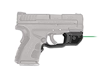 Crimson Trace LG-496 Laserguard Laser Sight with Instinctive Activation for Springfield Armory XD MOD.2 Pistols