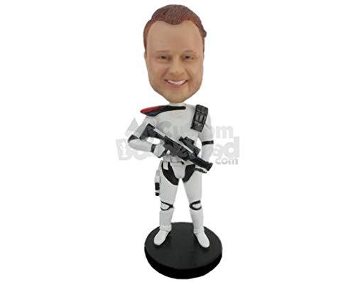 MyCustomBobblehead.com Personalized Bobblehead Boy Wearing Strom Trooper