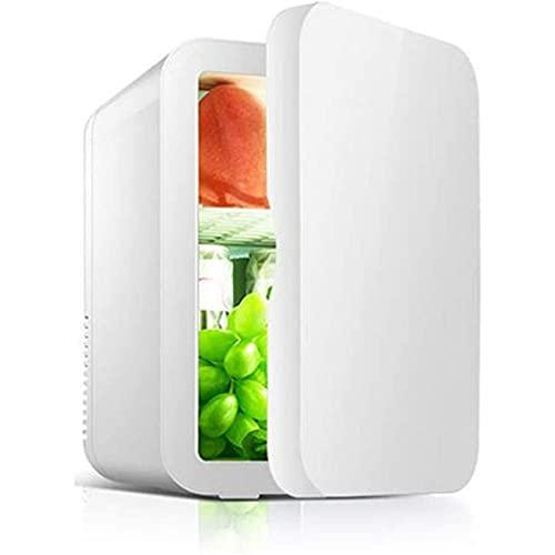 SONG Mini refrigerador portátil, Coche Mini Frigorífico en Exteriores Mini refrigerador de Juggerg (Color : White)