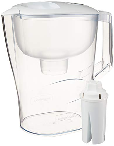 Amazon Basics 10-Cup Water Pitcher with Filter