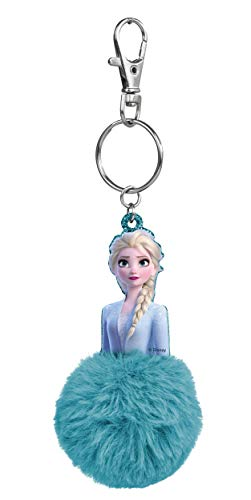 CRAZE Pom PON Keychain Frozen 2 Schlüsselanhänger Elsa Anna Oder Olaf Party Mitgebsel für Kinder 24164 Portachiavi Regalo per Bambini, Colore Vari Modelli