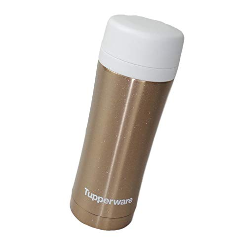 Tupperware Thermo tazza isolierbecher metallo infusore Gold Coffee Tazza di tè