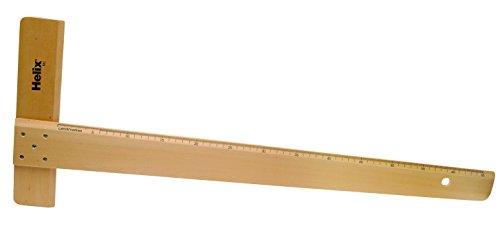 Helix Reißschiene A2 Holz für technische Zeichnungen