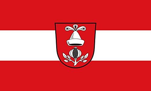 Unbekannt magFlags Tisch-Fahne/Tisch-Flagge: Egglkofen 15x25cm inkl. Tisch-Ständer