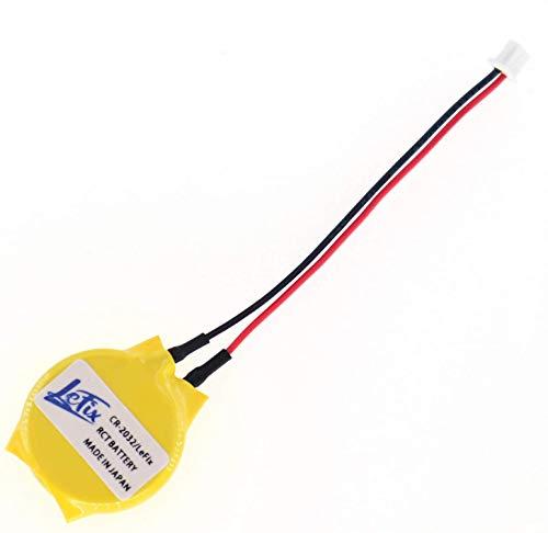 2 pines 2 cables BIOS CMOS batería para DELL(D830 E6530 N4050 E7270)....