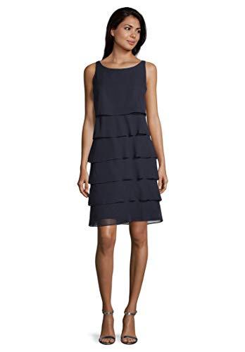 Vera Mont Damen 0063/4825 Kleid, Blau (Night Sky 8541), 42