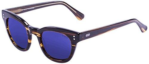 Ocean Sunglasses Santa Cruz Lunettes de soleil Brown/Revo Blue Lens