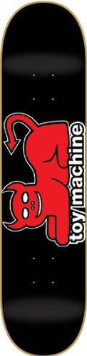 Toy Machine Devil Cat Skateboard Deck - 7.62 by Toy Machine