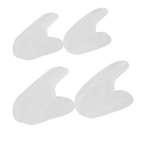 Sharplace 2 Paar Weich Silikon Zehenspreizer Zehenkorrektur Hallux Valgus Zehentrenner