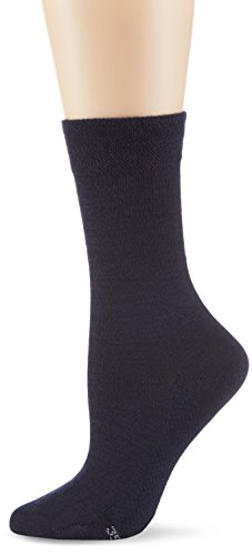 Hudson Damen Socken  Dry Wool, 100 DEN, Gr. 39/42, Blau (Marine 0335)