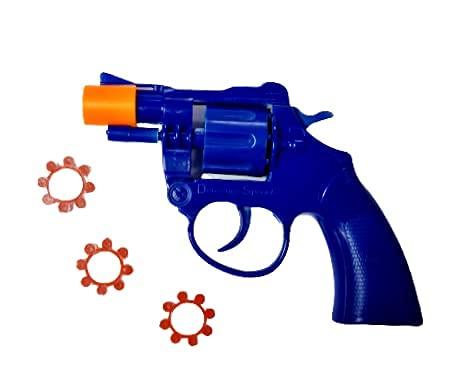 Kids Cap Gun with Caps 3 rings 24 shots plus gun, Toys for Children for...