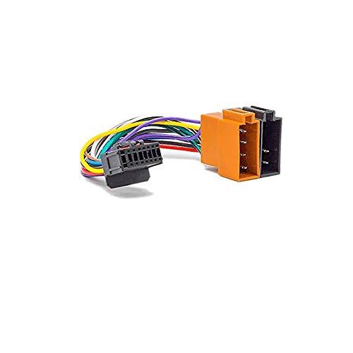 Sound-way Autoradio Cable Adapter Kabelbaum ISO kompatibel mit Pioneer 16 Pin