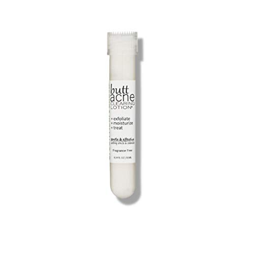 Butt Acne Clearing Lotion for back, buttocks, & thighs - Clears away acne breakouts and reveals new brighter skin