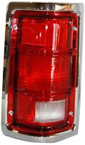 TYC 11-5060-01 Compatible with DODGE Pickup Driver Side Replacement Tail Light Assembly