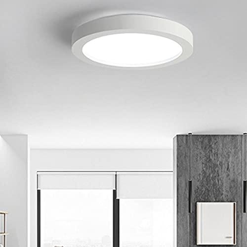 ZHANGQ Lámpara de techo LED Lámpara de acrílico regulable clásica simple moderna Lámpara de techo LED redonda Adecuado para dormitorio/sala de estar/balcón/D / 65×8.5cm