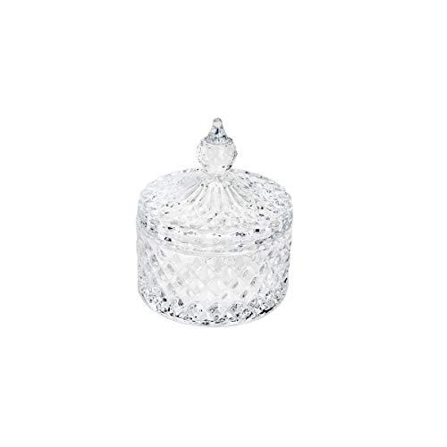 Potiche De Cristal Dublin 8, 4x10, 5cm Lyor Transparente Único