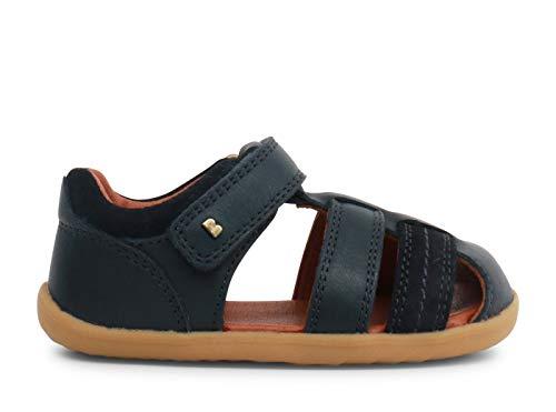 Bobux Step Up Roam Closed Sandal_Primeros Pasos – Sandali da spiaggia per bambino Bobux in pelle Blu Size: 20 EU