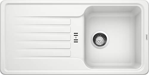 Fregadero de cocina Favos, Blanco, 521410