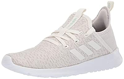 adidas Women's Cloudfoam Pure Running Shoe, Cloud White/Ice Mint, 6 Medium US