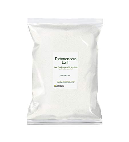 Pure Organic Ingredients Diatomaceous Earth (10 lb), Food Safe, Hundreds of Uses for Health and Cleaning for You, Your Pets, and Your Home