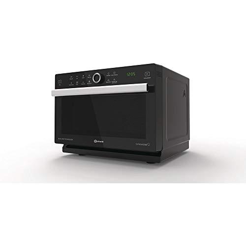 Minibackofen Freistehend mit 33l Garraum | Mikrowellenfunktion 900W | Heißluft, Grill, Auftauprogramm, Backprogramm | LED Display | Grillleistung 1200W