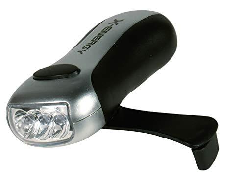 TEC HIT 330160 - Lampe Torche Dynamo - 3 LEDS - 2 Fonctions - Noir