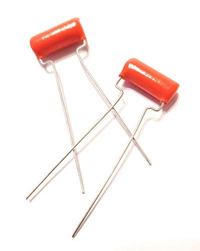 2 x .047uf 200v Orange Drop Guitar Tone Capacitors 715P Polypropylene