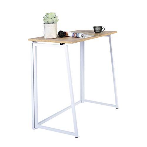 FURNITURE-R France - Mesa de oficina, compacta, plegable, ideal como escritorio para ordenador